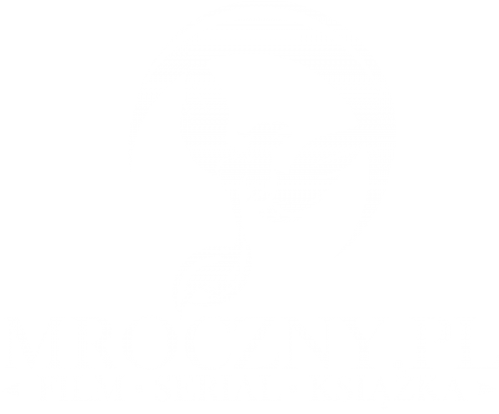 Logo Mroczny.pl białe